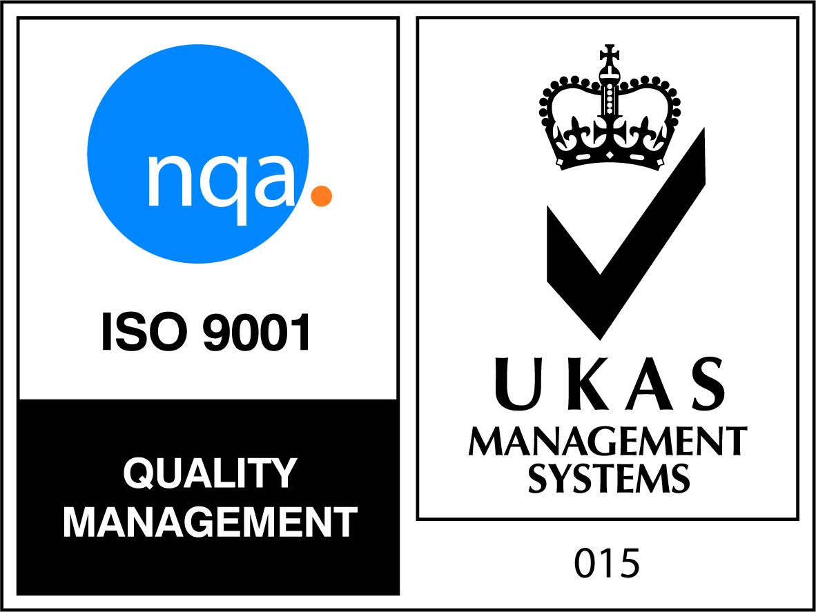 UKAS ISO 9001 WHITE BACKGROUND