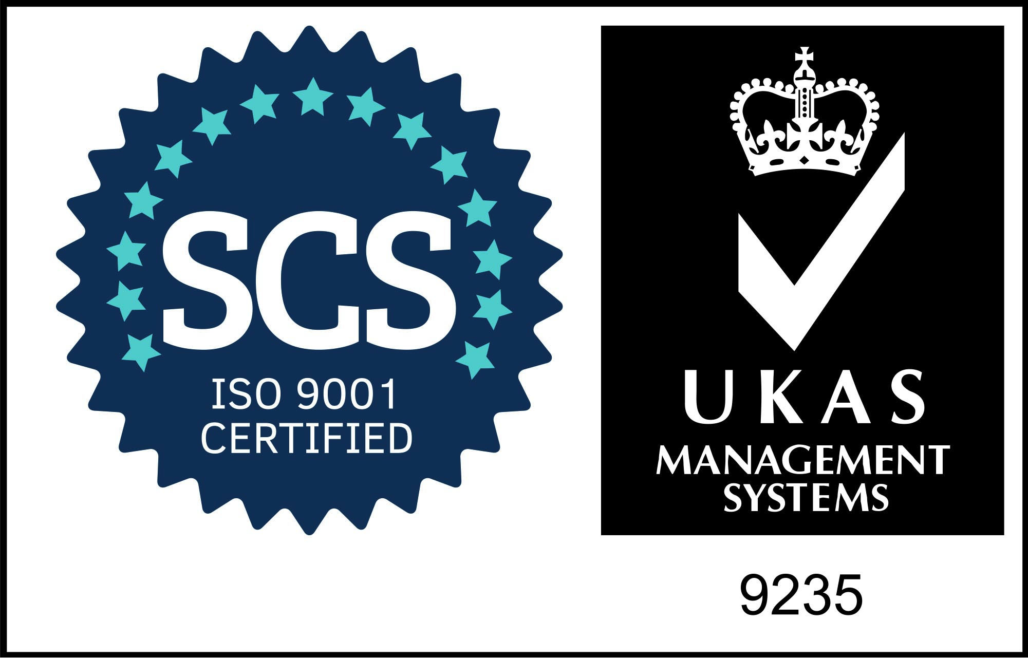 UKAS ISO 9001 WHITE BACKGROUND